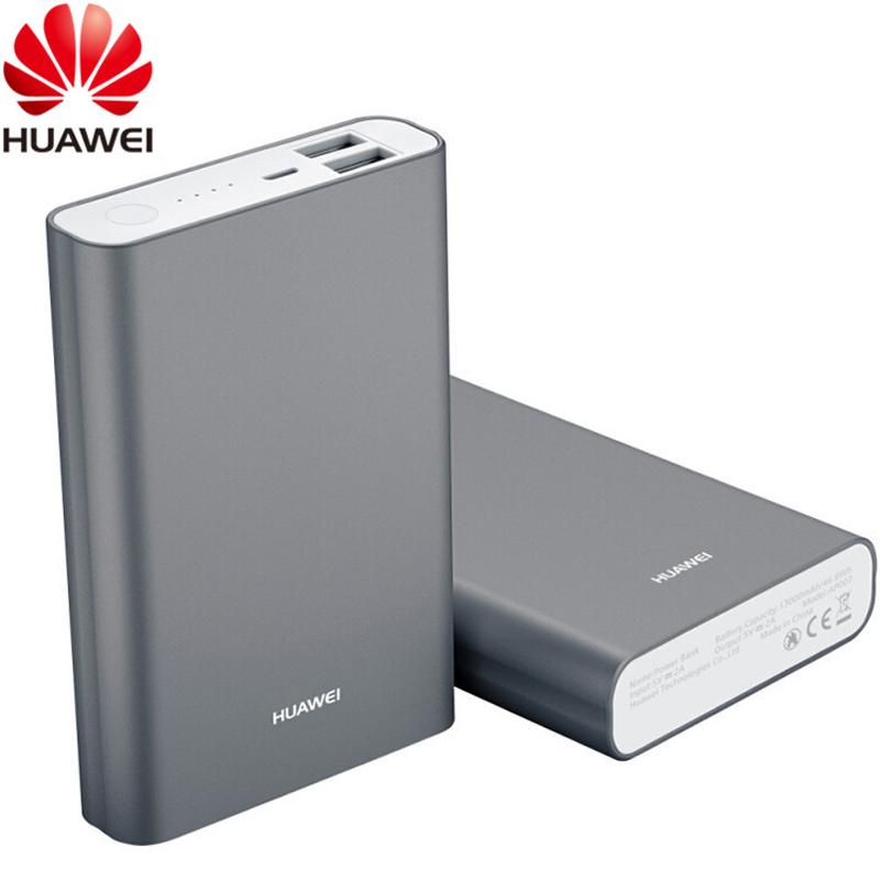 Huawei Original 5V 2A 13000mAh Power Bank Universal Mobile Smartphone Portable Grey Emergency Battery USB External Backup Power(China (Mainland))