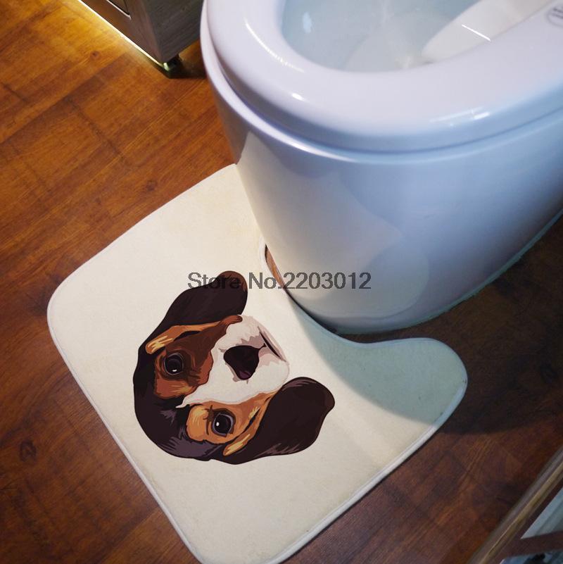 4050 cm de bain tapis bathmate salle de bains tapis u tapis toilette tapis - Tapie Salle De Bain Aliexpress