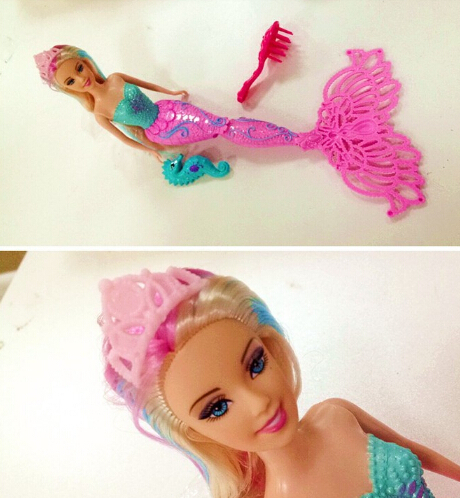 Kids Mermaid Dolls,Ariel dolls, Kids Girls birthday toys Cartoon dolls Girls princess dolls(China (Mainland))