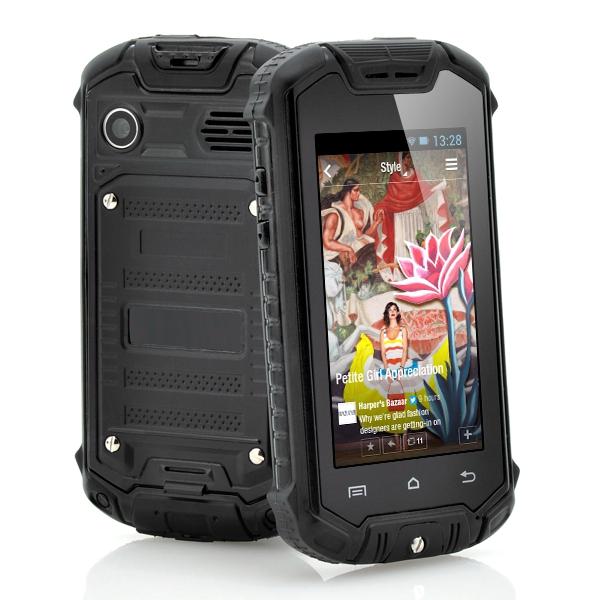 mini z18 android 4 0 mtk6572 ip53 waterproof outdoor smartphone capacitive screen mini. Black Bedroom Furniture Sets. Home Design Ideas