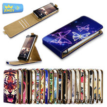 Printed Cover Leather Phone Case For ARK Benefit M7/DOOGEE HOMTOM HT6/Jiayu S3, Printed Stand Flip Case Phone Cover Large size