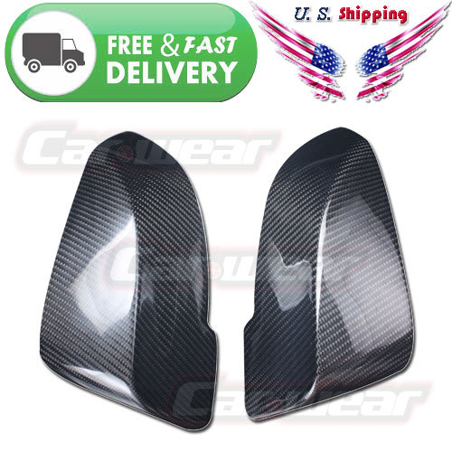 BMW F10 F11 F18 520i 530i 535i Carbon Fiber Replacement Mirror Covers Caps 2014-2015 - Guangzhou OWOLF Auto Parts Co., Ltd. store