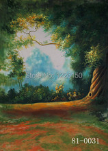 Mysterious scenic Backdrop 81-0031,10 x10ft Hand Painted Photography Background,estudio fotografico,backgrounds for photo studio