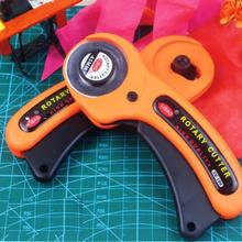 New sale Rotary Cutter Premium Quilters Sewing Fabric Cutting Craft Tool #EC059