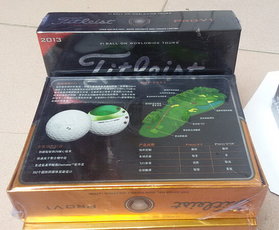 2013 new high quality v1 golf, brand golf balls (12 balls in a box). Free transportation(China (Mainland))