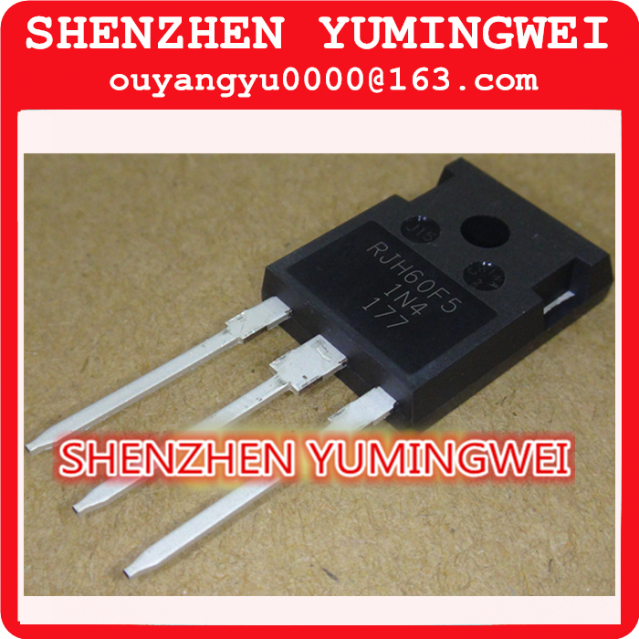 1 RJH60F5DPQ RJH60F5 N Channel IGBT High Speed Power Switching TO-247 80A600V 100% new original - SHENZHEN YUMINGWEI store