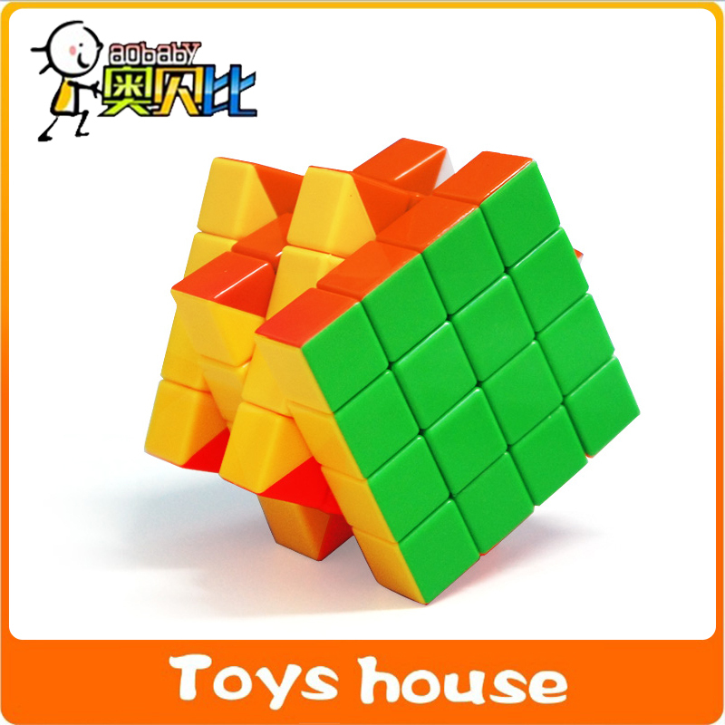 6cm Puzzles cube magnetic toy professional 4x4x4 Puzzle Speed magnet balls speed cube(China (Mainland))
