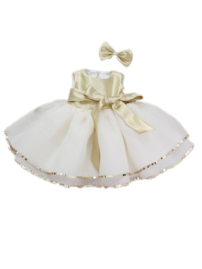 Formal Toddler Baby Girl Christmas Dress 1 Year Birthday Flower Dresses Christening Gowns, Reine Des Neiges 7062