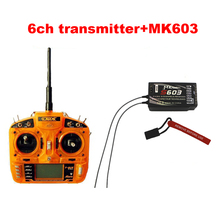 ORX rc 2.4G 6ch transmitter radio RC Receiver 2.4g 3-position flap Surpass DX6i JR FUTABA for Helicopters Airplanes Quadcopters