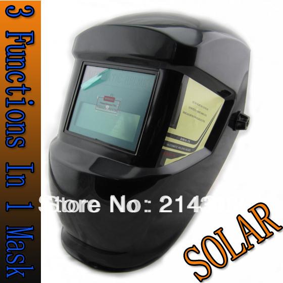 Solar auto darkening welding helmet/welding mask/welder goggles/eye glass/shading goggles for the TIG MMA MIG welding machine(China (Mainland))