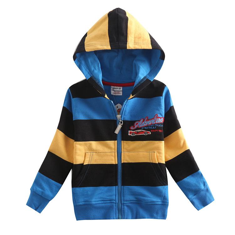 2015 fashion children outerwear printed cartoon car baby boy coat kids jackets coats nova brand boys topolino with hoodies A5126(China (Mainland))