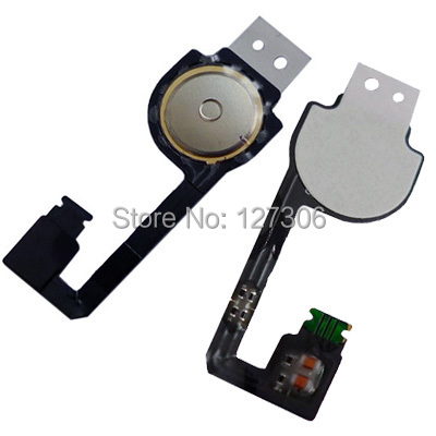 Free Shipping Original Version Home Key Button PCB Membrane Flex Cable for iPhone 4