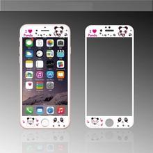 Sale Rushed Fashion Nanometer Film Anti-knock Cute Cartoon Happy Panda Black White Screen Protector For Iphones 6 6s 6plus