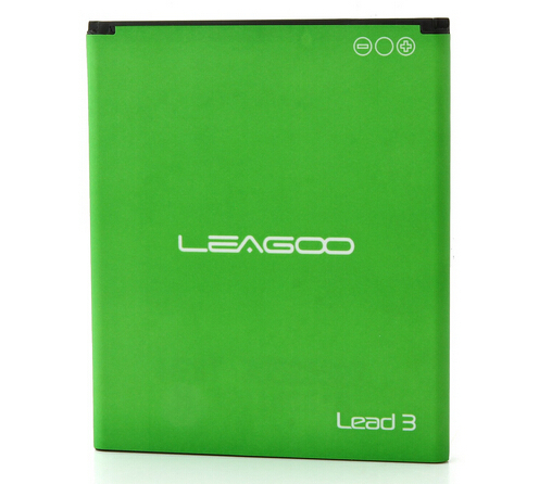 Origianl LEAGOO Battery 1600mAh for Leagoo Lead 3 Smartphone Android 4.4 MTK6582 4.5 Inch QHD Screen 3G GPS-free shipping(China (Mainland))