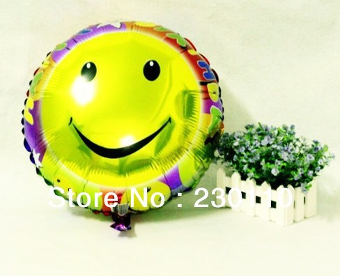 5s 18 inch round foil balloons, helium balloons , holiday party smile value selling ! - Happy Balloon Family store