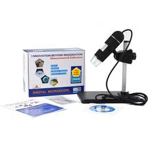 200x Zoom 5MP High Resolution USB Digital Microscope Mini Portable 8 LED Endoscope Camera for Win 7/XP/2000/Vista New Year Gift(China (Mainland))