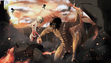Free shipping Attack on Titan (2013) Japanese sci-fi anime Poster print silk fabric wall decoration 24x36in(1447181570122)