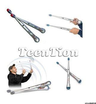 Rhythm Sticks Electronic Drum Sticks Air drumstick Novelty toy personal Gift free shipping