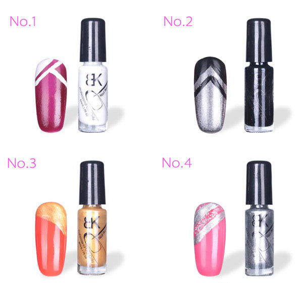 Gel Nail Polish Wsmalte Para Unha Esmaltes Vernis A Ongle Gelishgel Nail Art Pen Varnish Acrylic Paint NA-076(China (Mainland))