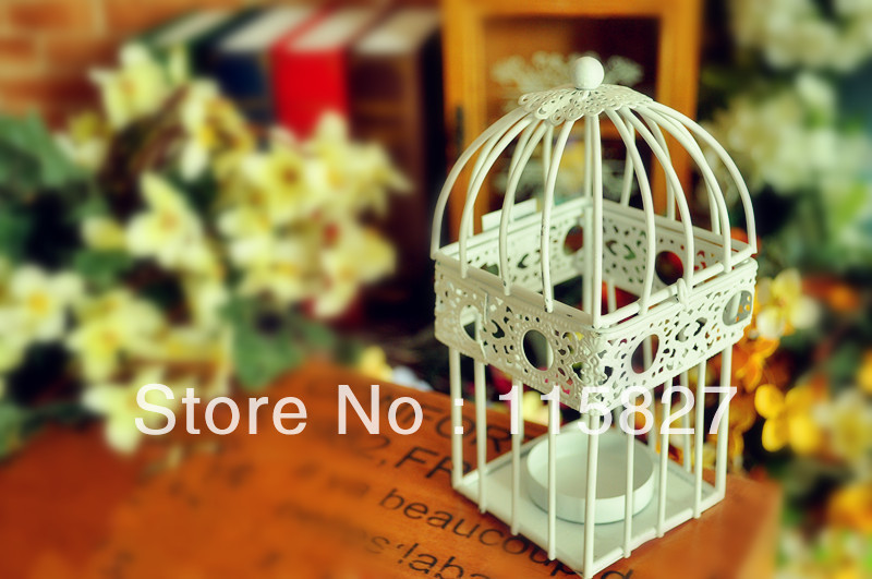 Min order$20(mixed items) Weddings lantern square Candle Holder Pure white iron candle PURE LOVE wedding gift(China (Mainland))