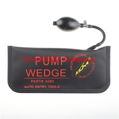 2015 New Arrived Whole Sale diagnostic tool pump wedge black big Auto Air PUMP WEDGE Locksmith Tool 5 pcs/bag
