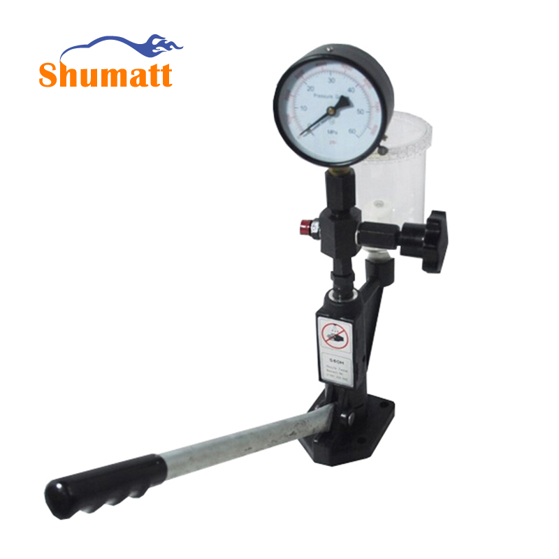 Diesel Injector Nozzle Tester / Pop Pressure Tester - Dual Scale Bar / PSI Gauge fuel injector nozzle tester(China (Mainland))