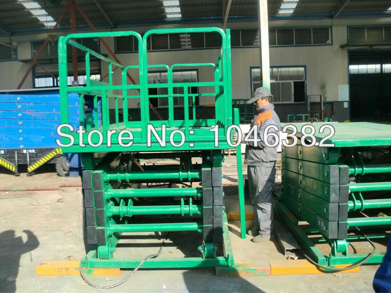 Shengyuan Stationary Cargo Scissor Table Lift(China (Mainland))
