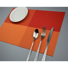 10pcs Plate Lunch Mat PVC Coaster Set Dining Table Placemats Insulation font b Kitchen b font