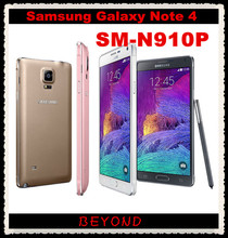 """Buy Samsung Galaxy Note 4 N910P Sprint Original Unlocked 4G LTE GSM Android Mobile Phone Octa Core 5.7"""" 16MP RAM 3GB ROM 32GB for $230.00 in AliExpress store"""