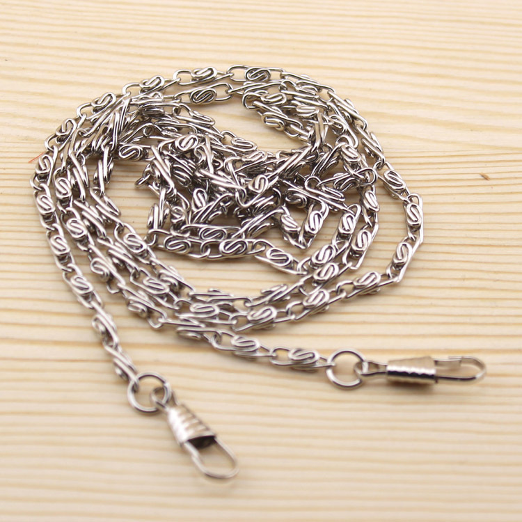 Free Shipping/ 120 cm silver Metal Purse Frame Chains Straps Bag Craft Accessories / Wholesale(China (Mainland))