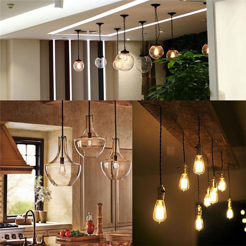 TSLEEN Dimmable E27/E26 Edison Filament LED Bulbs Vintage ST64 Cover Light Cool White/Warm White Lamp lampada de led para casa
