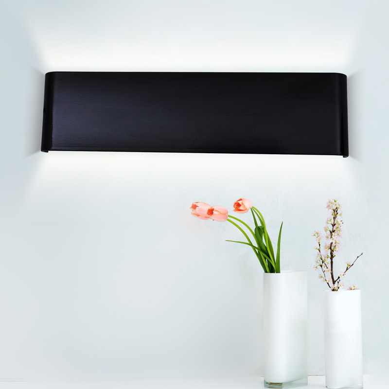 Modern 24cm-111cm Long Aluminum LED Wall Lamps for livingroom bathroom as Decoration Sconce Light 90-260V lamparas de pared(China (Mainland))