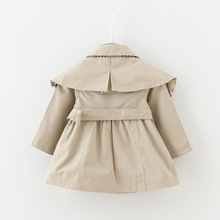 2016 new spring and autumn baby girl clothes fashion casual baby coats girls 6 24 month