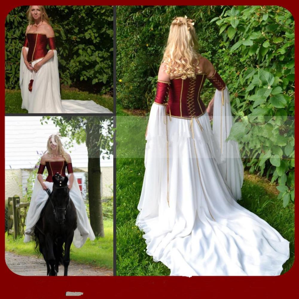 Vestido de novia medevil — Cuadros