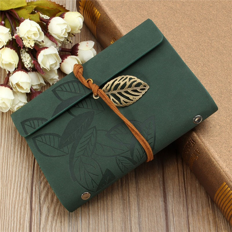 New Sketchbook Stationery Agenda Vintage Diary Notebook Writing Pockets Book Leaf Leather Cover Loose Blank Travel Journal Gift(China (Mainland))