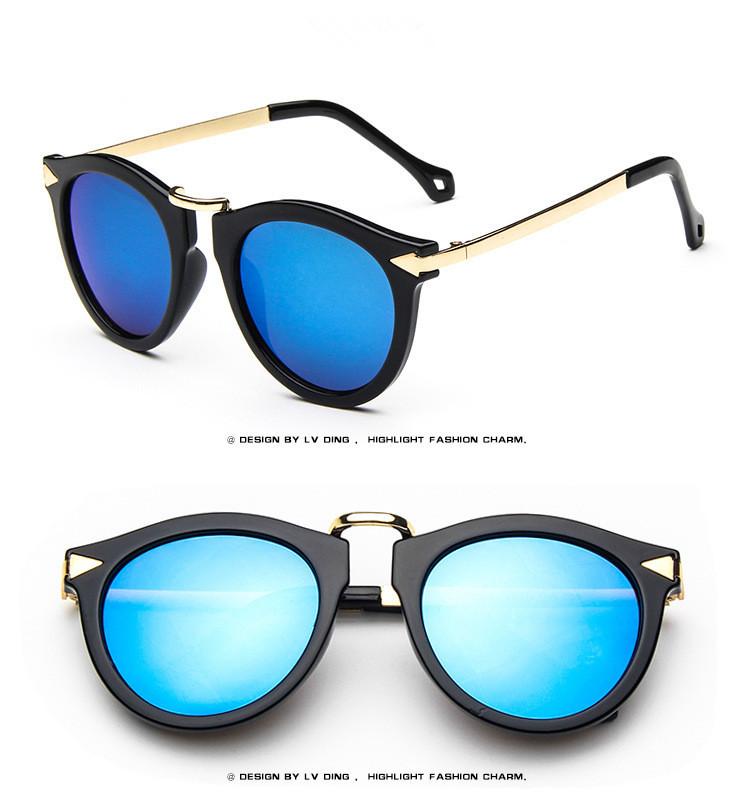 7 Colors Summer Style Retro Sunglasses Women 2015 Fashion ...