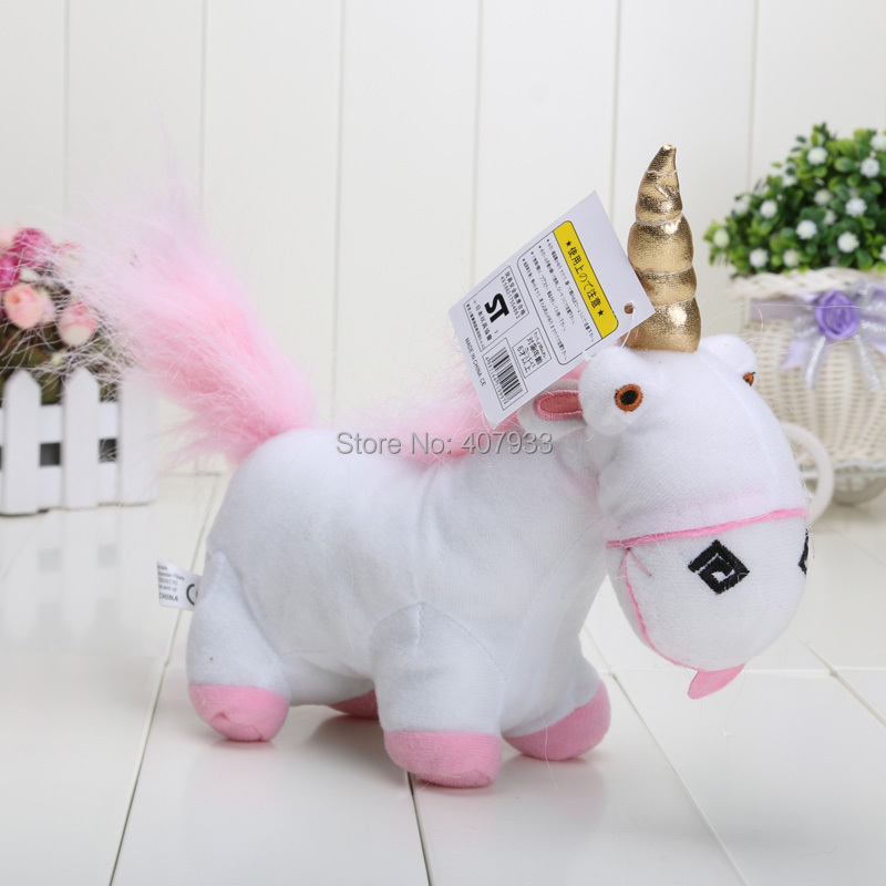 """Despicable Me 5pcs 8inch Newest Movie Despicable Me Character Plush Unicorn Soft Toy 8"""" Stuffed Animal Cute Doll hot sale(China (Mainland))"""