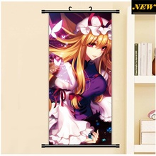 45X95CM Toho Eastern Touhou Project yakumo yukari cartoon anime art wall picture mural poster cloth scroll canvas painting