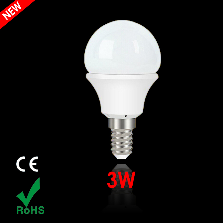 New brand High quality e14 LED ball bulb lamp FSL 3W energy saving led light bulb 220V warm/cold white led lights for home 10pcs(China (Mainland))