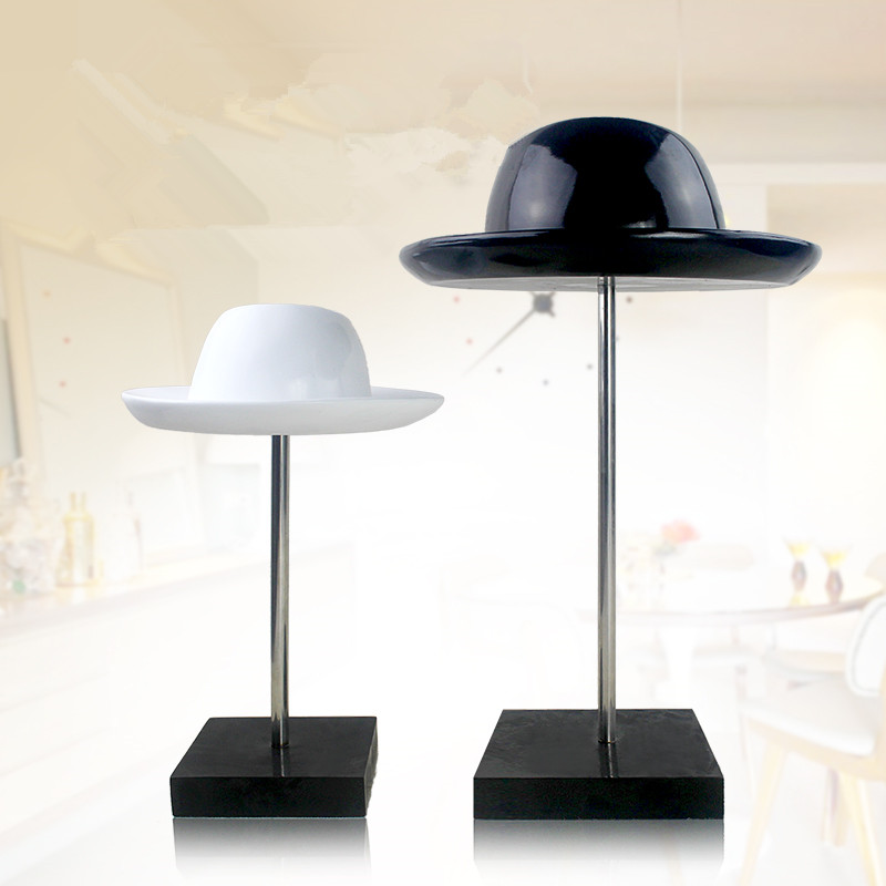 Personalized handmade resin top hat bowler hat crafts furnishings fashion minimalist creative modern home decorations ornaments