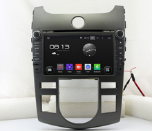1024*600 HD 2 din 8″ Android 5.1 Car PC Radio DVD for Kia CERATO /FORTE With Built-in wifi Car Audio GPS Bluetooth IPOD USB