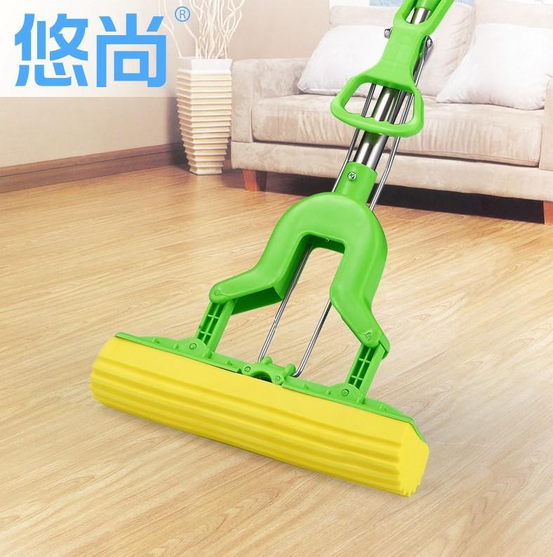 Pva mop folded water andwhen mop sponge original cotton 4(China (Mainland))