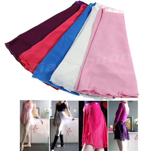Free Shipping New Adult Girl Women Chiffon Ballet Tutu Dance Skirt Skate Wrap Scarf 5 colors<br><br>Aliexpress