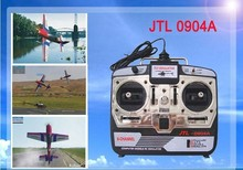 6CH RC Simulator JTL-0904A real flight helicopter simulator two mode with with CD disk