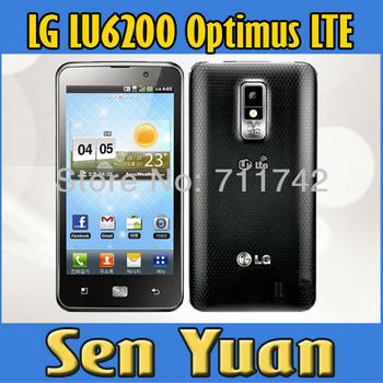 "Refurbished LG Optimus LTE LU6200 GPS WIFI 4.5"" WIFI 8MPGPS Unlocked Mobile Phone 1 Year Warranty"