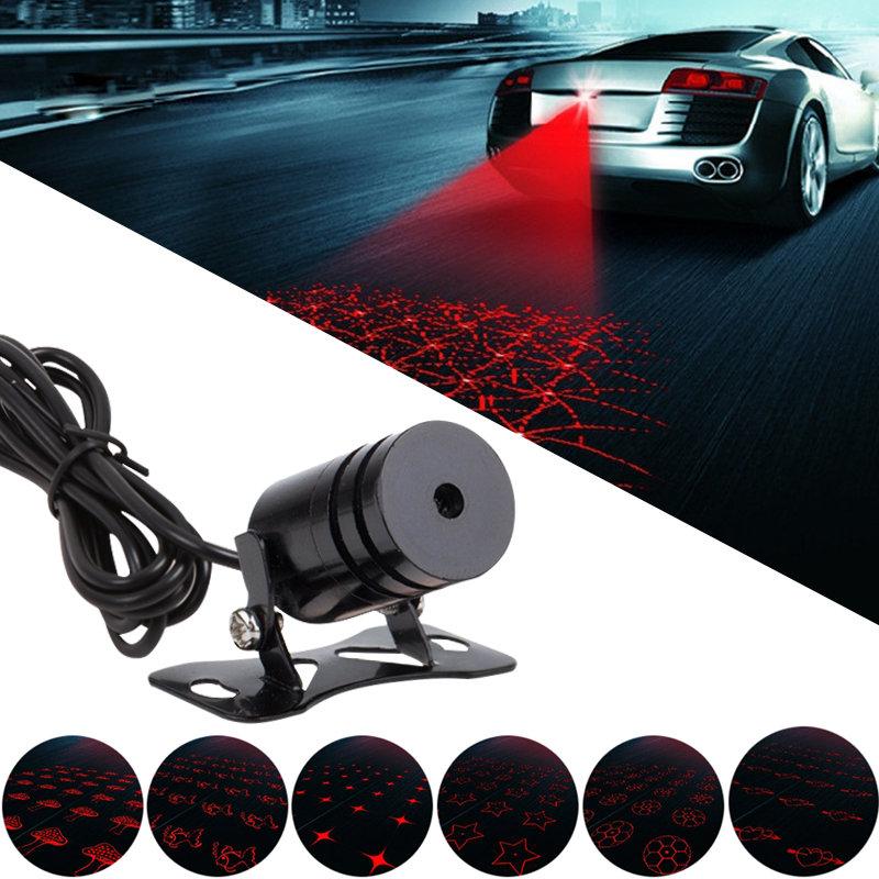 1pcs 12V Car Styling Automobiles Warning Laser Pilots Led Trailer Fog Light Car Marker And Rear Lights For Cars Trailer For Audi(China (Mainland))