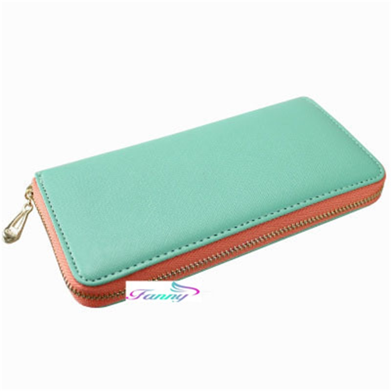 Popular PU Leather Pocketbook For Lady Contract Style Women's Daily Use Standard Long Wallet Female Coin Purse Card Holder A012(China (Mainland))