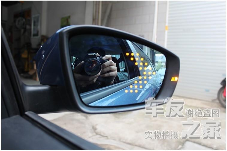 forAmagatarai SX4 rain Yan Feng Yu Rui riding electric heating lamp LED Anti Glare Anti Glare rearview mirror double blue mirror