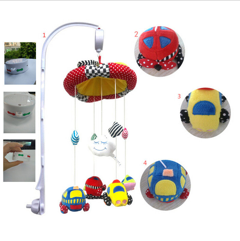 Musical Mobile toys sets Baby Electric Bed Bell crib with the high Arm and toys new function could download the song you like(China (Mainland))