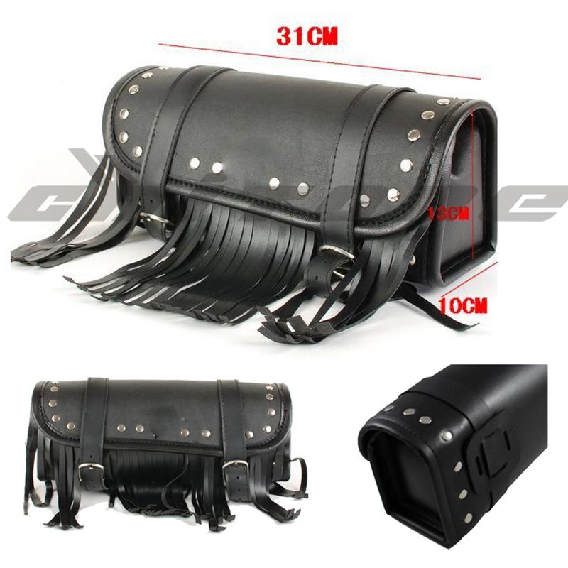 New tail bag bolso de cola black motorcycle luggage cases motocicleta tool bag moto tank bag leather motorcycle saddlebags <br><br>Aliexpress